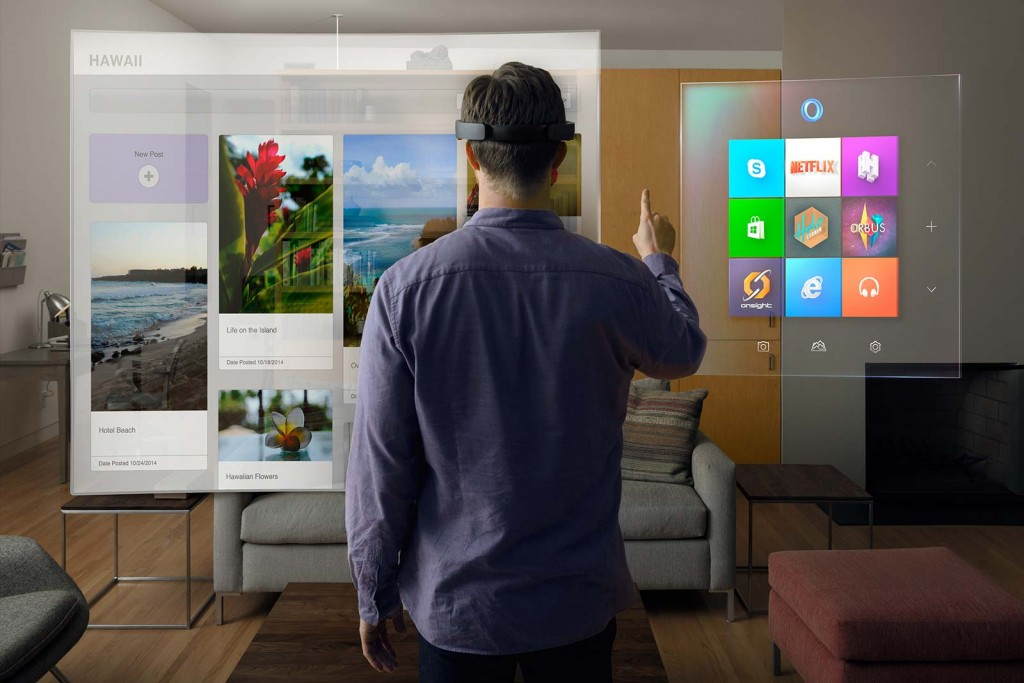 Hololens by Microsoft