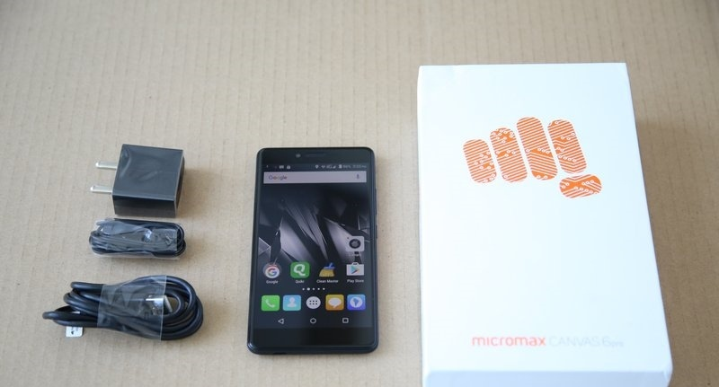 Micromax Canvas 6 specification, features and performance 3