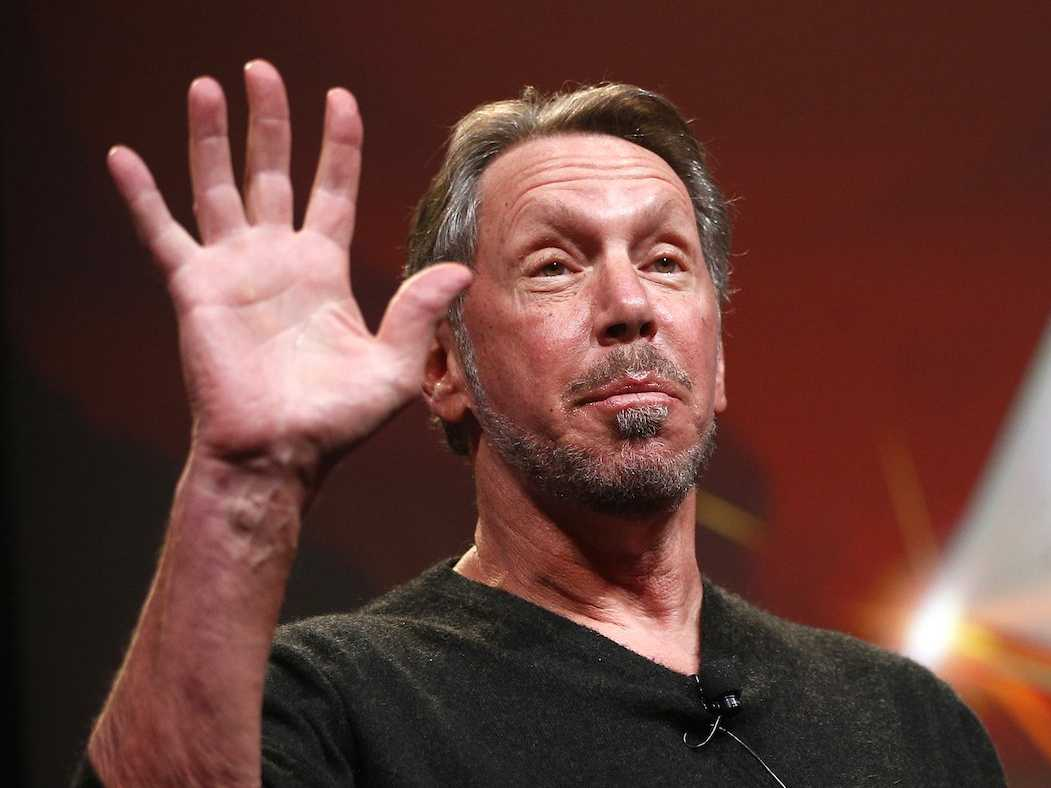 Larry Ellison 2 Famous IT personalities