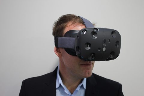 HTC Vive is a good virtual reality headset