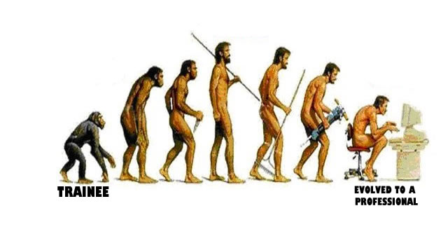 evolution of a trainee