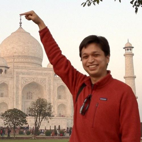 Bin @ Taj Mahal - India