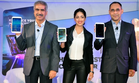 Samsung Tab series-3 Launch
