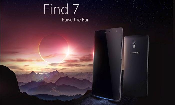Oppo find 7 Smartphone