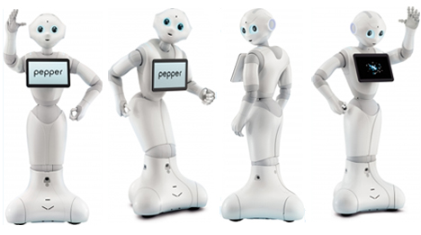 peper is an emotion sensing robot
