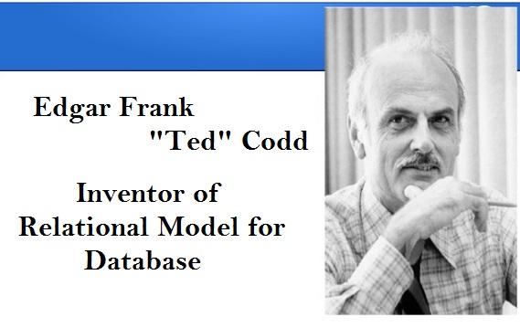 Edgar Frank Ted Codd