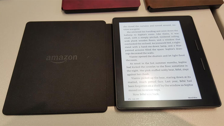 Amazon Kindle Oasis: Your digital book in leather cover (review