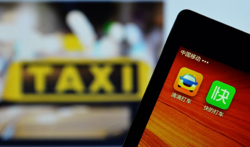 Apple finances $1 billion to Chinese taxi app