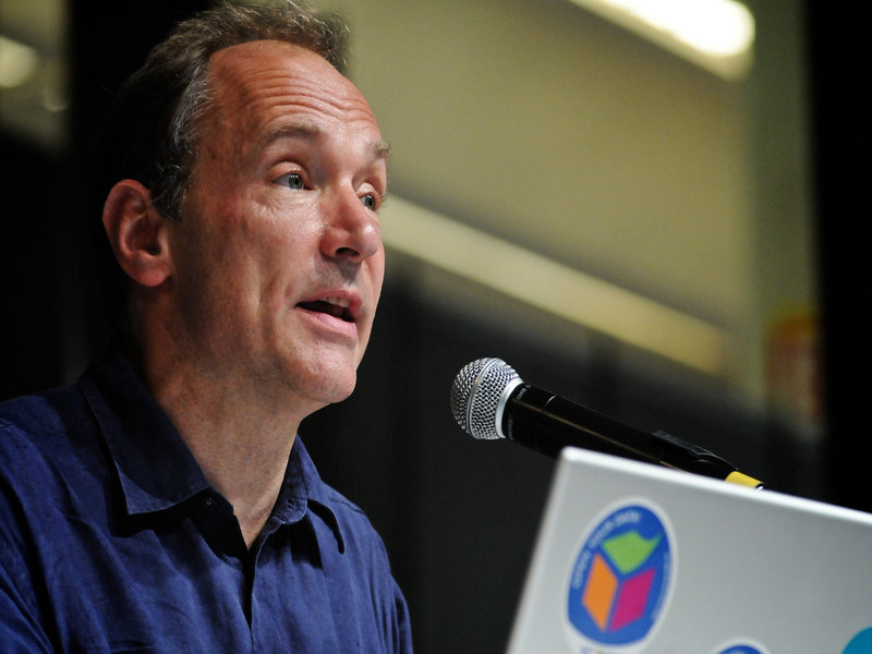 Tim Berners-Lee, the founder of World Wide Web