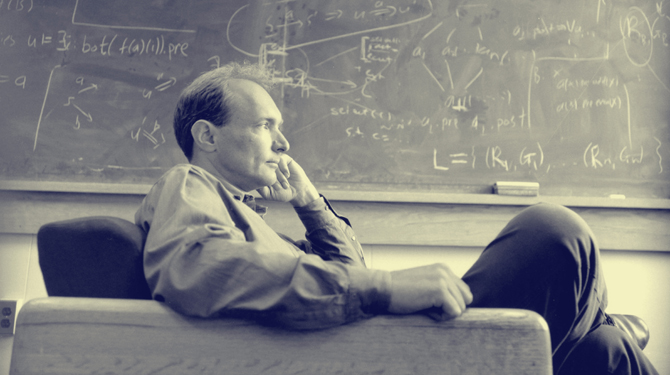 Tim Berners-Lee, the founder of World Wide Web1