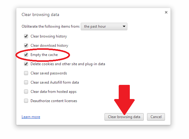 How to Clear Browser Cache in Chrome